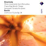 Bartók: Suite Op 14; Stravinsky: 3 Movements from Petroushka (CD)