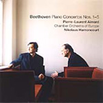 Beethoven: Piano Concertos Nos 1 - 5 (CD)