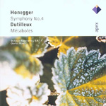 Produktbilde for Honegger: Symphony No 4; Dutilleux: Métaboles (CD)