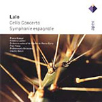 Lalo: Symphonie Espagnole; Cello Concerto (CD)