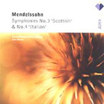 Mendelssohn: Symphonies Nos 3 and 4 (CD)
