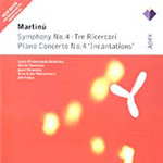 Martinu: Piano Concerto No 4; Symphony No 4 (CD)