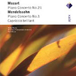 Mozart: Piano Concerto No 21; Mendelssohn: Piano Concerto No 1 (CD)