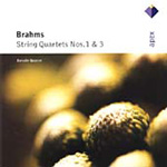 Brahms: String Quartets Nos 1 and 3 (CD)