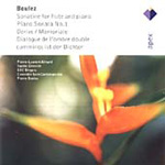 Produktbilde for Boulez: Piano Sonata No 1; Chamber Works (CD)