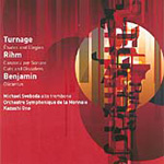 Benjamin: Olicantus; Rihm: Cuts & Dissolves; Turnage: A Quiet Life (CD)