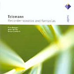 Telemann: Recorder Sonatas and Fantasias (CD)