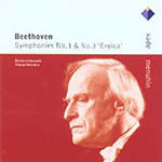 Beethoven: Symphonies Nos 1 and 3 (CD)