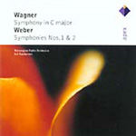 Produktbilde for Wagner & Weber: Symphonies (CD)