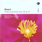 Mozart: Piano concertos Nos 20 and 27 (CD)