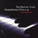 Produktbilde for Beethoven-Liszt: Symphonies Nos 1 - 9 (CD)
