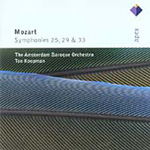 Mozart: Symphonies 25, 29 and 33 (CD)