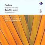 Alain; Duruflé; Poulenc: Organ Works (CD)