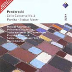 Penderecki: Cello Concerto No 2; Partita; Stabat Mater (CD)
