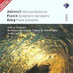 Addinsell: Warsaw Concerto; Franck: Symphonic Variations; Grieg: Piano Concerto (CD)