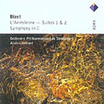 Produktbilde for Bizet: L'Arlésienne Suites 1 & 2; Symphony in C (2CD)