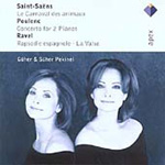 Saint-Saëns; Poulenc; Ravel: Works for Two Pianos (CD)