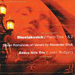 Shostakovich: Piano Trios Nos 1 & 2; (7) Romances, Op 127 (CD)