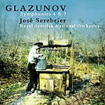 Glazunov: Symphonies Nos 4 and 7 (CD)