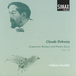 Claude Debussy - Complete Works For Piano Solo Vol. III (CD)