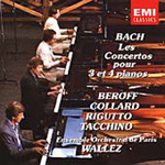 Bach: Concertos for 3 and 4 Keyboards (CD)