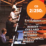 Produktbilde for Bach: Concertos for 3 and 4 Keyboards (CD)