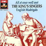 The King's Singers - English Madrigals (CD)