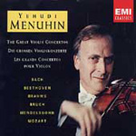 Menuhin plays Popular Violin Concertos (CD)