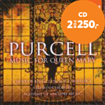 Produktbilde for Purcell: Music for Queen Mary (CD)