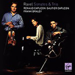 Ravel: Violin Sonata; Sonata for Violin and Cello; Piano Trio (CD)