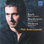 Bach; Beethoven; Webern: Piano Works (CD)