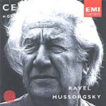 Mussorgsky: Pictures at an Exhibition. Ravel: Boléro. (CD)