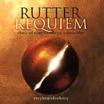 Rutter: Requiem; Sacred Choral Works (CD)