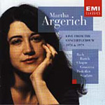Martha Argerich - Live at the Concertgebouw 1978 & 1979 (CD)