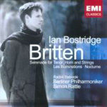 Produktbilde for Britten: Les Illuminations; Nocturne; Serenade (CD)