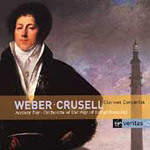 Weber/Crusell: Clarinet Concertos (CD)