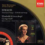 R. Strauss: Lieder with Orchestra (CD)