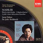 Mahler: Song-cycles (CD)