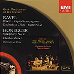 Honegger: Symphony No. 2; Ravel - Orchestral Works (CD)