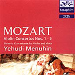 Mozart: Violin Concertos Nos 1-5, etc (CD)