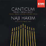 Canticum - French Organ Music (CD)