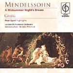 Grieg: Peer Gynt; Mendelssohn: Midsummer Night's Dream (CD)