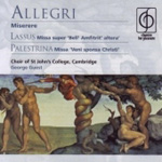 Allegri: Miserere (CD)