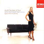 Alison Balsom Trumpet and Organ Recital (CD)