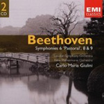 Beethoven: Symphonies Nos, 6, 8 and 9 (CD)