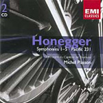 Honegger: Symphonies Nos 1-5 (CD)