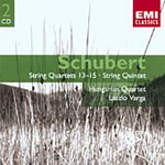 Schubert: String Quintet; String Quartets Nos 13, 14 and 15 (CD)