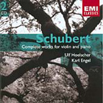 Schubert: Complete Works for Violin and Piano (CD)