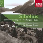 Sibelius: Kalavala Legends; Tempest (CD)