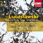 Lutoslawski: Orchestral Works; Chamber Works (CD)